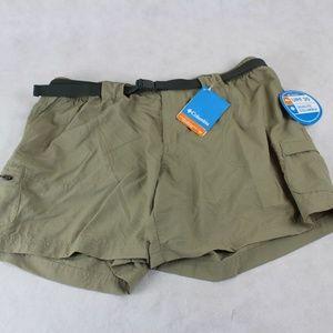 Columbia UPF30 Sandy River Cargo Shorts NWT